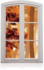 Okno drewniane belgijskie